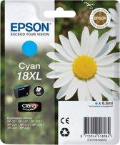 Epson 18XL (T1812) - Inktcartridge / Cyaan / Hoge Capaciteit