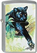 Aansteker Zippo Linda Picken Black Leopard
