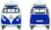 VW T1 Bus Luchtverfrisser, karton, ocean