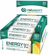 NatuSport Energy Performance Bar Oat&Fruit - Citrus Fruit (12 x 46 gram)