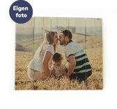 Foto op Hout 80 x 60 cm   Eigen foto