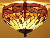 Tiffany plafondlamp Libelle 40 / 80