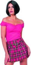 Veelzijdige Top Uni Roze Vrouw   Maat 46   Carnaval kostuum   Verkleedkleding