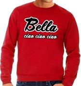 Rode Bella Ciao sweater voor heren L