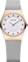 BERING 11927-064 - Horloge - Staal - Rosékleurig - Ø 27 mm