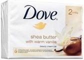 Dove Zeep Shea Butter - 2 x 100 gr
