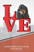 Coonhound Love Journal