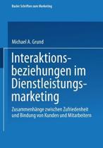 Interaktionsbeziehungen Im Dienstleistungsmarketing