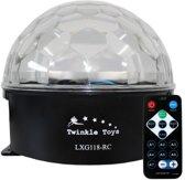 Discobal led RGB Astro lichteffect  (met draadloze afstandsbediening)