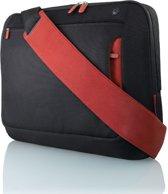 Belkin Notebook Messenger Tas voor 17 inch notebooks - Zwart / Rood