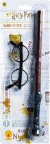 """Kit toverstok & Bril Harry Potter ™ Kind - Verkleedattribuut - One size"""