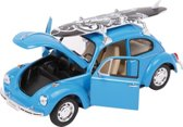 """Car Model """"VW Beetle and Surfboard"""