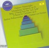 Schoenberg, Berg, Webern: Orchestral Works / Karajan, et al