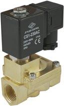 Magneetventiel ST-IA 3/8'' messing EPDM 0.5-16bar 230V AC