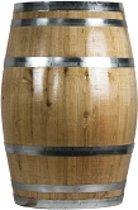 Wijnvat 200 liter blank gelakt