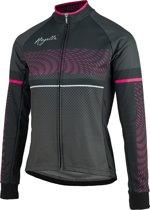 Rogelli Fietsshirt - Maat S  - Vrouwen - zwart/grijs/roze