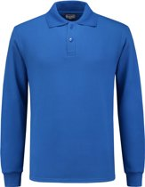Workman Polosweater Outfitters - 8304 royal blue - Maat 3XL