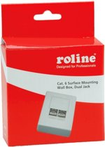 Roline Surface Mounting Box, Cat. 6, Shielded