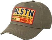 Milestone Relics Patched License Plate Baseball Cap – Khaki