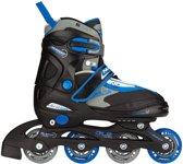 Nijdam Inline Skates Verstelbaar Junior Zw Maat 30-33