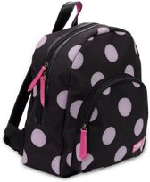 Zebra Trends Girls Rugzak Glitter Dots Soft Pink