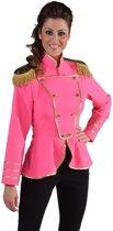 Luxe roze Toppers jas voor dames maat XL (42)