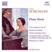 C. Schumann: Piano Music / Yoshiko Iwai