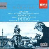 Brahms: Tragic Overture; Paul Hindemith: Mathis der Maler Symphony; Anton Bruckner: Symphonie 8