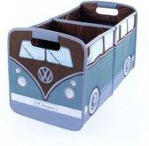 Nostalgic Art VW T1 Opbergbox Petrol/Bruin