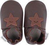 Bobux - Soft Soles Giants - Chocolate smiling star - Babyslofjes - EU 28
