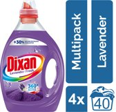 Dixan Gel Lavender Fresh - Kwartaalverpakking - 160 wasbeurten - Wasmiddel