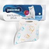 Paloma Exclusive Plus Toiletpapier 3 lagen- 9 x 10 rollen