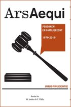 Ars Aequi Jurisprudentie - Jurisprudentie Personen- en familierecht 1979-2019