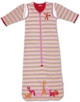 Little Company - Solo Sleeper Stripe Babyslaapzak 110 cm - Roze
