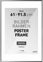 Reinders Wissellijst voor posters - 61x91,5 cm - Zilver