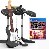 Rock Band 4 Band in a Box (Drum + Guitar + Microphone + Game) - PS4