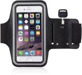 Sport armband hardloop hoesje voor Apple iPhone 7 / 8 Zwart