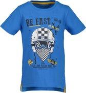 Blue Seven Jongens T-shirt - cyaan blauw - Maat 116