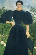 Portrait of a Woman by Henri Rousseau Journal