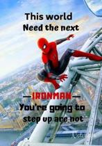 This world Need the next ironman you're going to step up are not Notebook