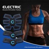 Elektrische 3 Delige EMS Sixpack & Spierstimulator Six Pack - EMS Spiertrainer - 6 Niveau's - 10 Levels - Armen en Buik