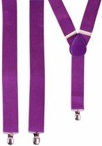 Paarse bretels tot 120 cm
