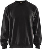 Blåkläder 3340-1158 Sweatshirt Zwart maat M