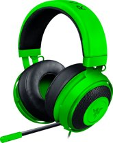 Razer Kraken Pro V2 Round - On Ear - Gaming Headset - PS4 + Xbox + PC + MAC - Groen