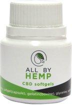 All by Hemp 4% CBD softgels