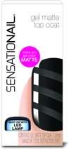 Sensationail Matte Top Coat - Gel Nagellak