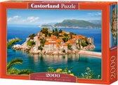 Sveti Stefan, Montenegro 2000 stukjes