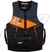 JETPILOT Cause 50N Neopreen vest, JA6218, Maat L, Charcoal / Orange