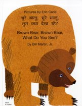 Brown Bear, Brown Bear, What Do You See? In Hindi and English