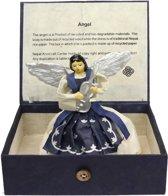 FT 231815 Engel geschept papier blauw